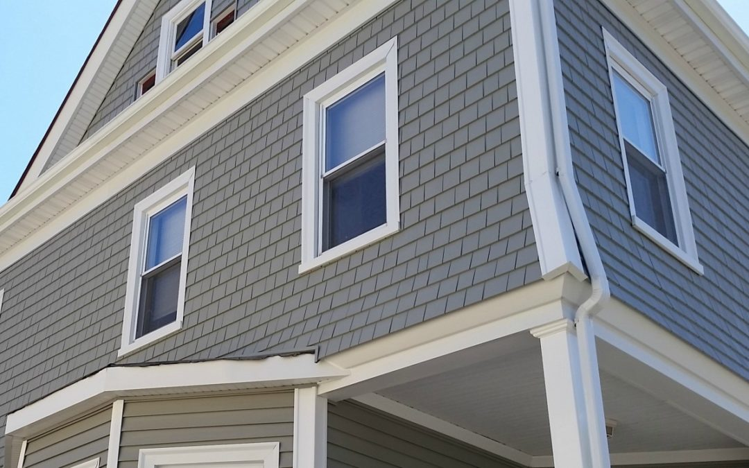 Mastic Vinyl Siding & AZEK Porch in New Bedford, MA
