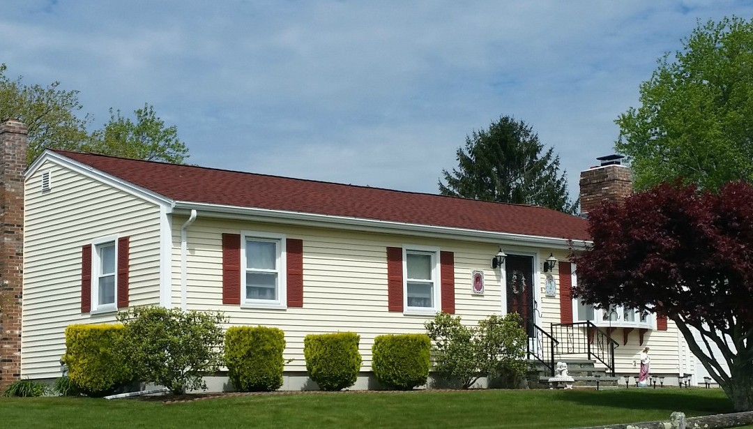 GAF Roofing System in Patriot Red, Dartmouth, MA