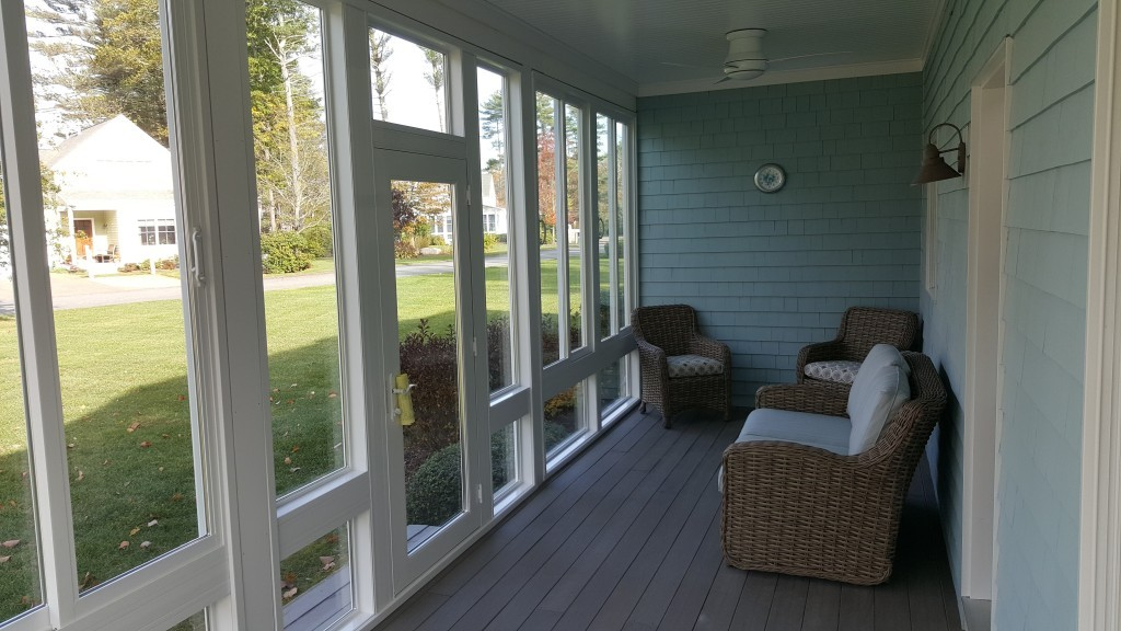Fill In Sunroom Addition Rochester Ma Contractor Cape