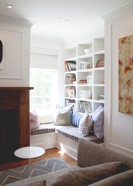 Design ideas for small nooks contractor cape cod ma ri for Cozy reading nook