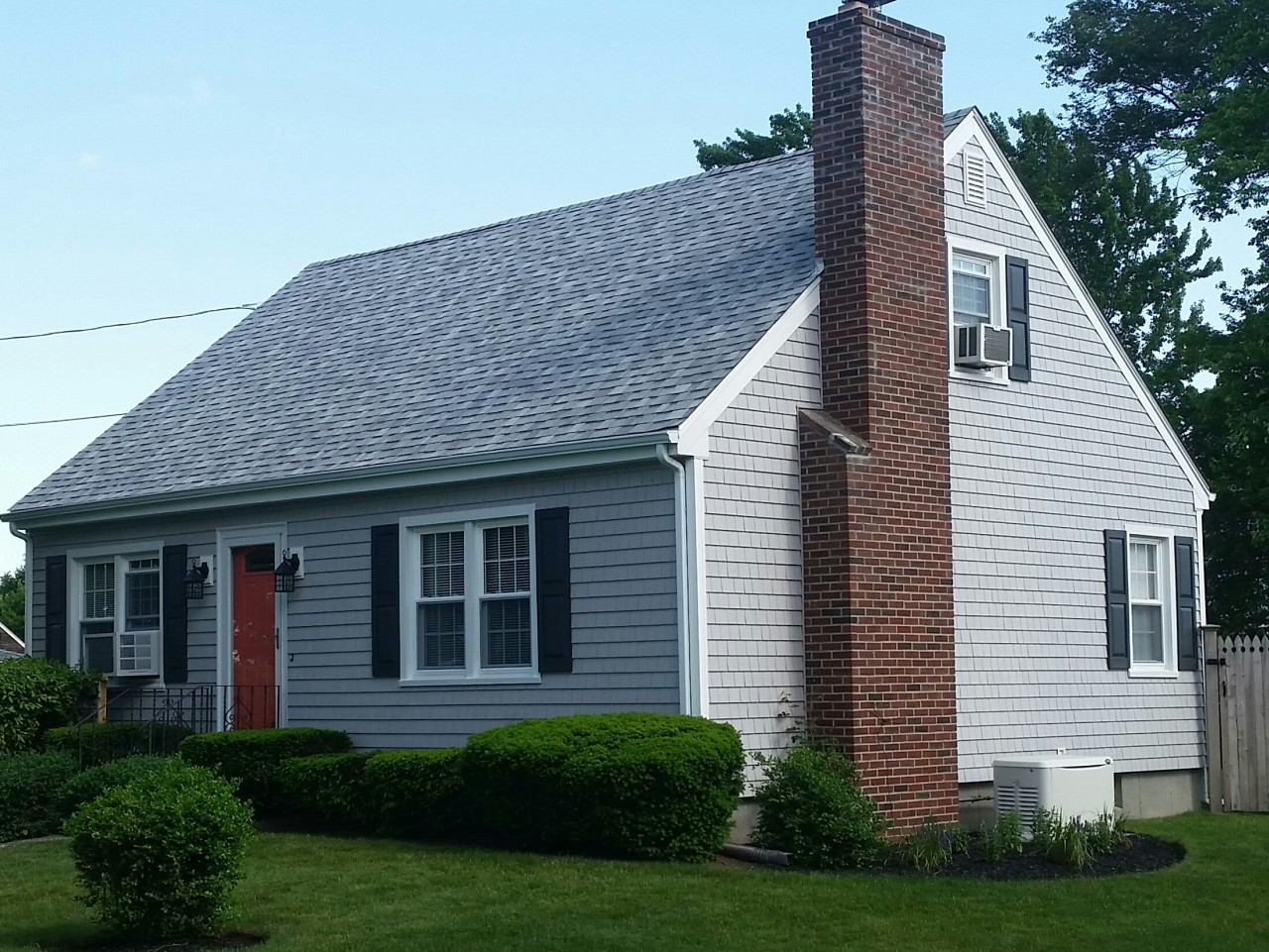 cape cod style home gets new siding in somerset ma