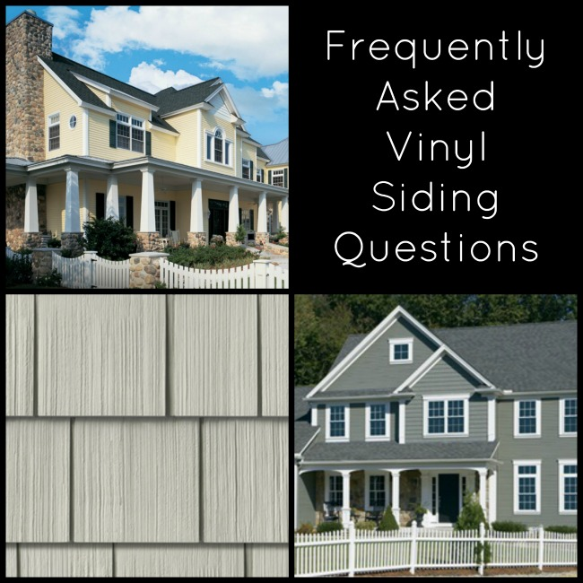 Frequently Asked Vinyl Siding Questions