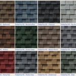 Roofing Shingles – Styles & Colors
