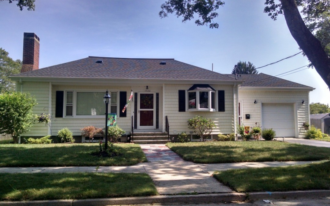 GAF Roofing System On Ranch Style Home In New Bedford, MA