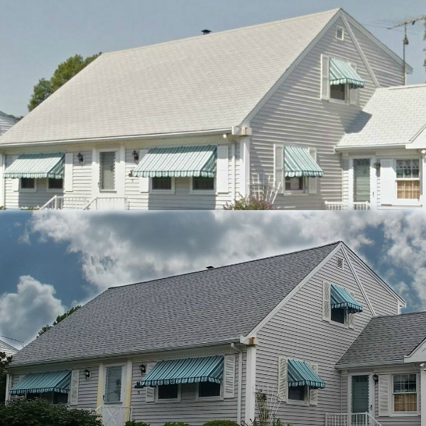 GAF Roofing System On Cape Cod Style Home In No. Dartmouth