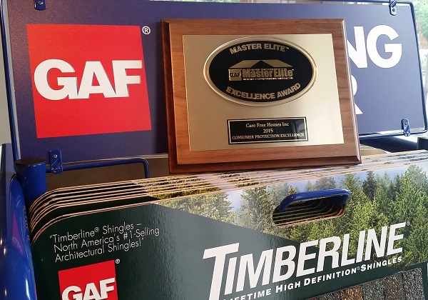 We're a GAF Consumer Protection Excellence Award Winner…Again!!