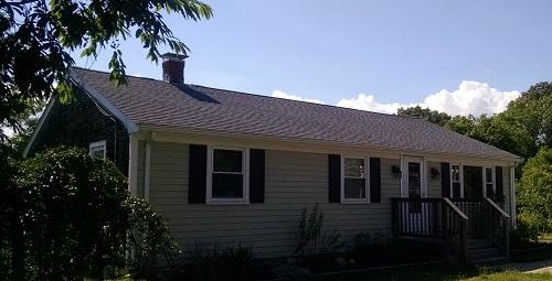 GAF Lifetime Roofing System, Acushnet, MA