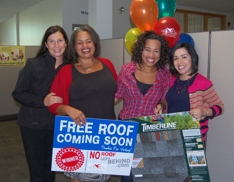 PRESS RELEASE: New Bedford Mom is No Roof Left Behind Winner!