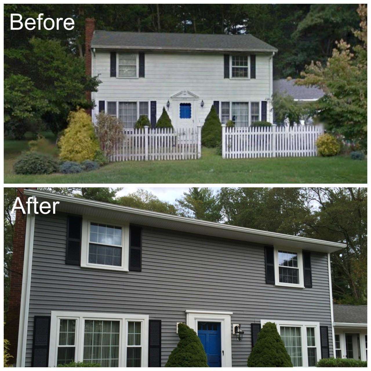 Lakeville Ma Vinyl Siding Amp Replacement Windows Project