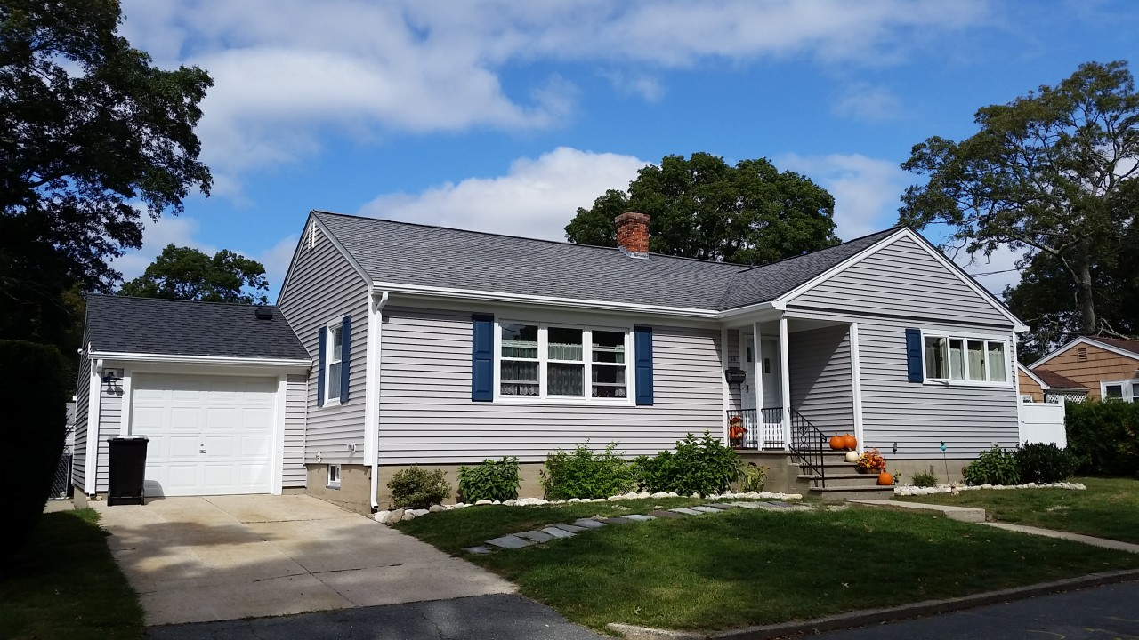 Vinyl Siding Project Dartmouth Ma Contractor Cape Cod