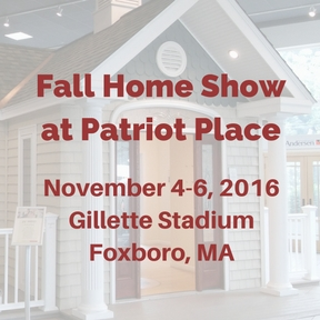 Home Show at Patriots Place November 4-6, 2016