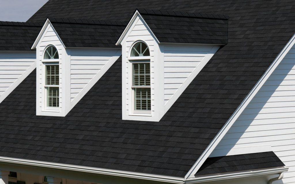 owens corning onyx black roof shingle