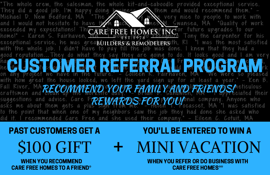 refer your friends to care free homes