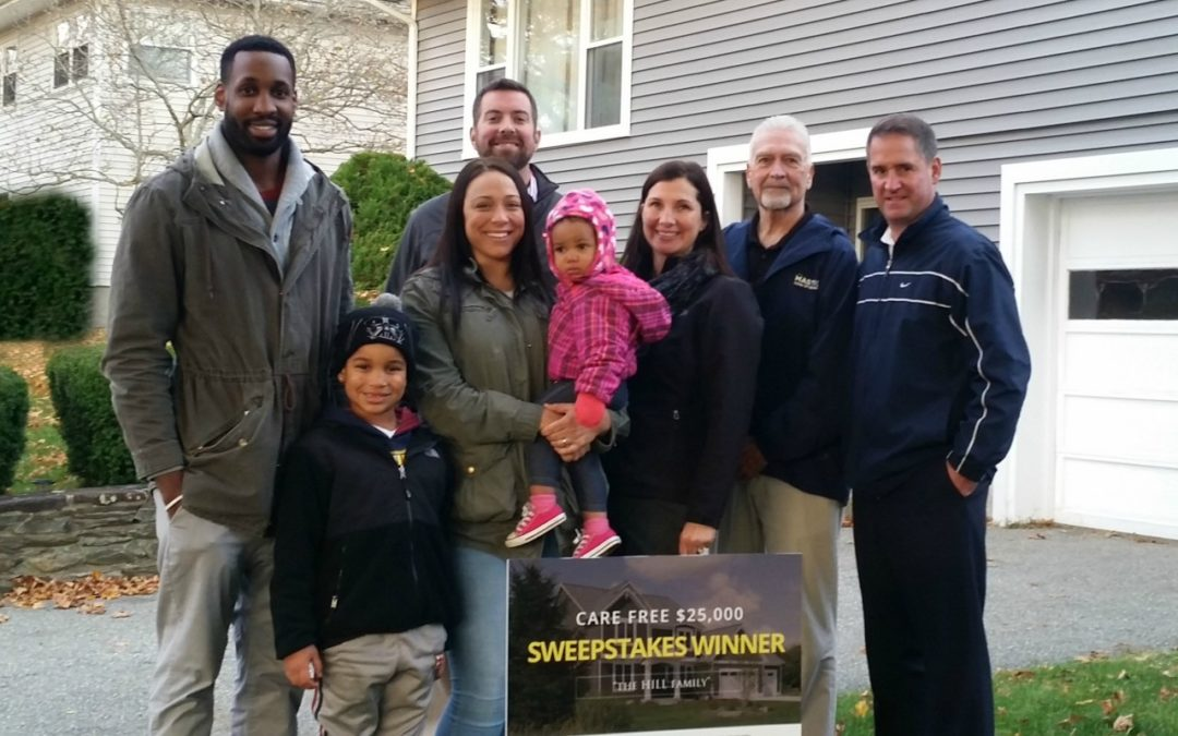 New Bedford, MA Sweepstakes Winner Takes Home New Roof, Siding, Windows!