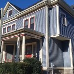 Vinyl Siding & Harvey Windows on Historic Building in New Bedford, MA