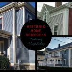 Historic Home Renovations feature Vinyl Siding in New Bedford, MA