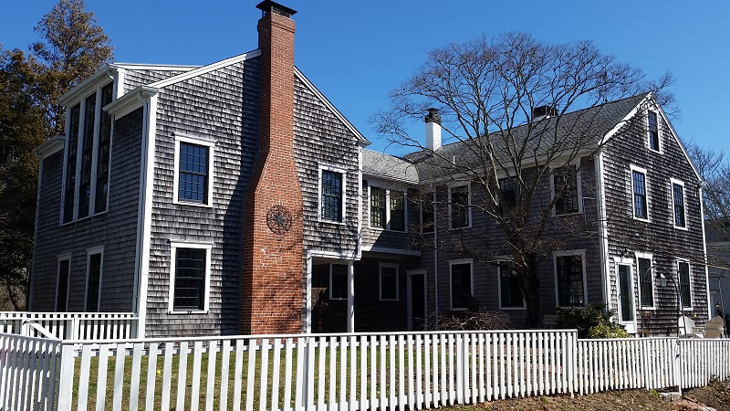 Andersen Windows featured on Historic Home in So. Dartmouth, MA