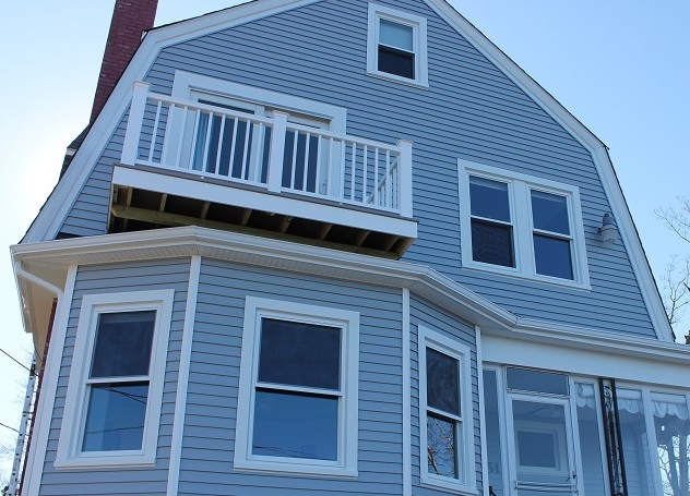 Mansard roof replacement vinyl siding harvey windows for Harvey windows