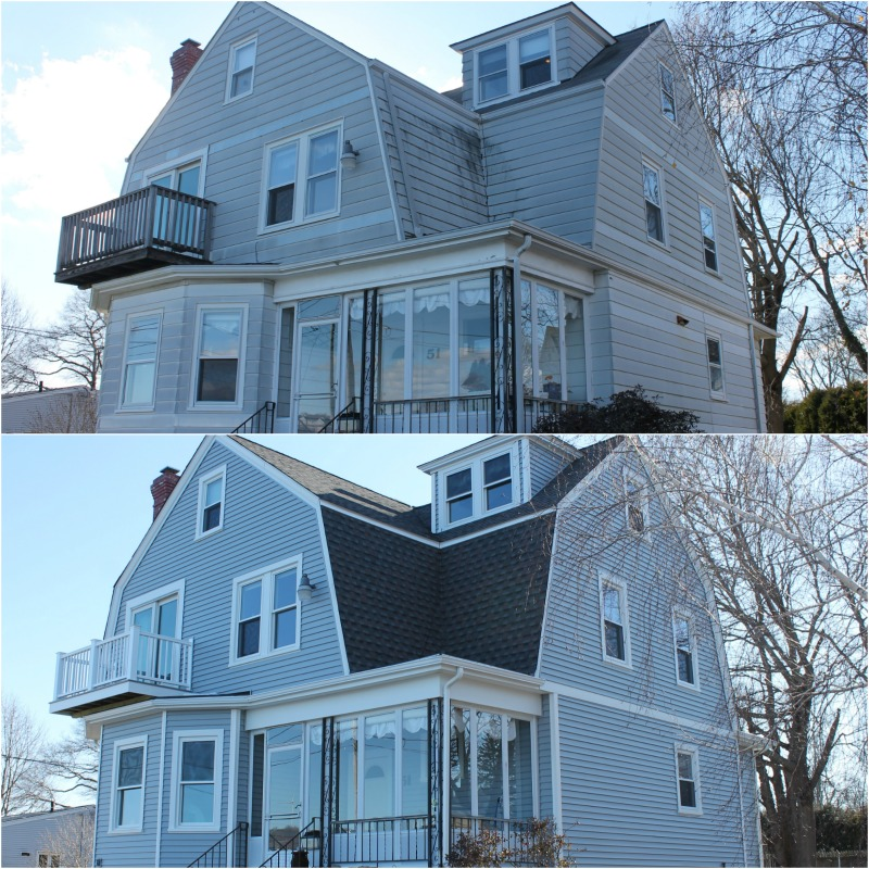 Mansard Roof Replacement Vinyl Siding Harvey Windows