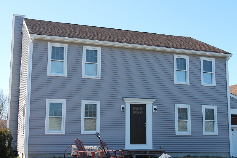 Vinyl Siding, Harvey Windows on Somerset, MA Home