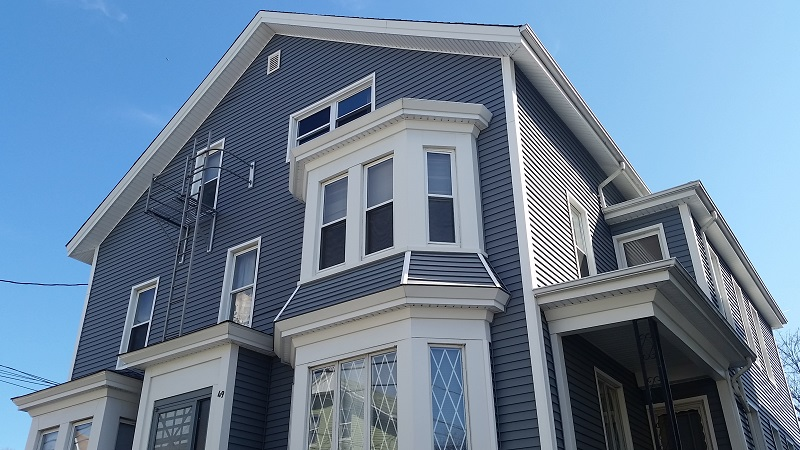 Vinyl Siding on Fall River, MA Multi-Family