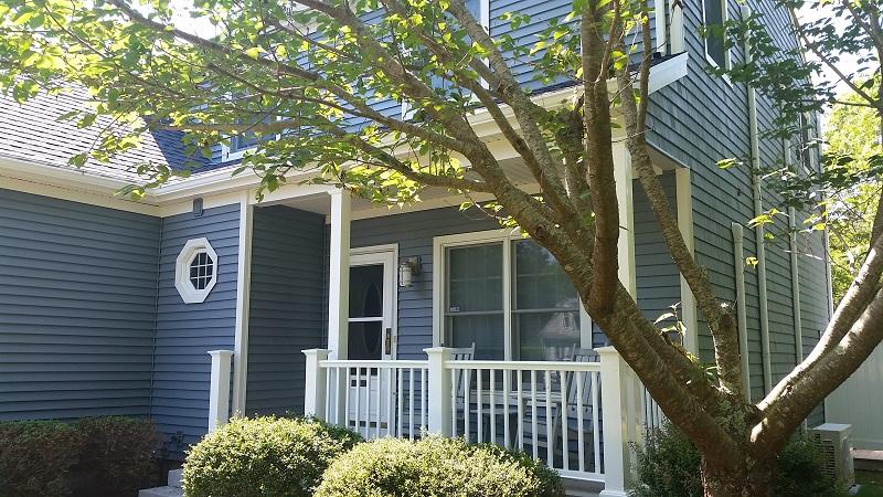 New Roofing, Vinyl Siding, AZEK Decking, Windows on Mashpee, MA Summer Home