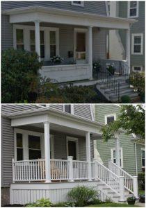 AZEK Porch New Bedford, MA