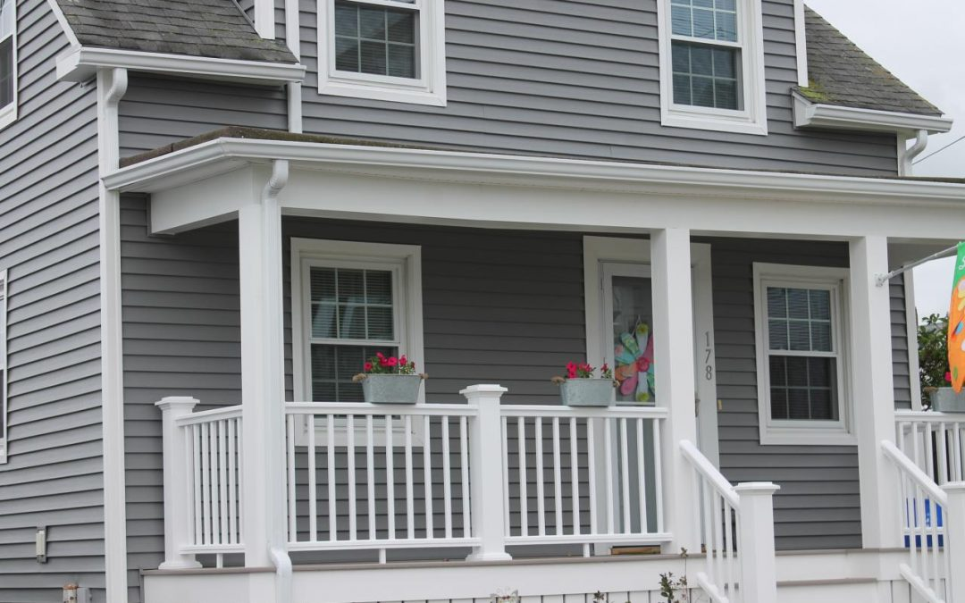 Harvey Windows, Vinyl Siding, AZEK Porch, New Bedford, MA