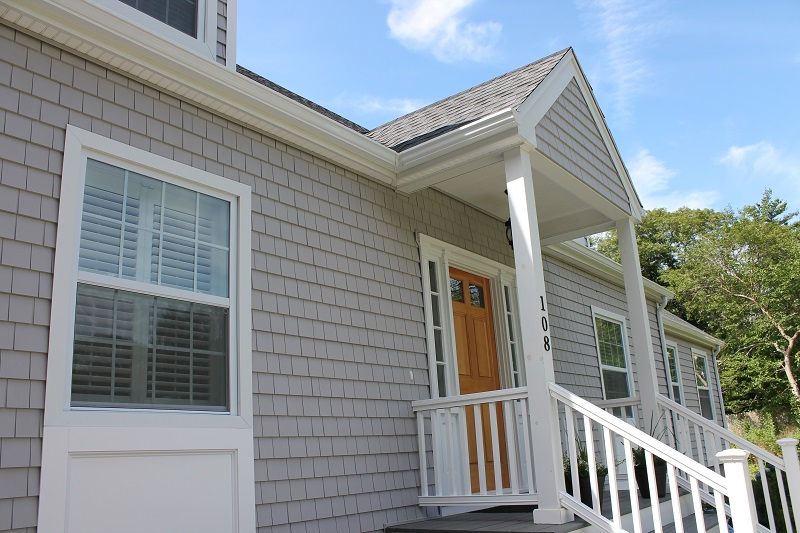 Cedar Discovery Vinyl Siding On Mattapoisett Ma Home Contractor