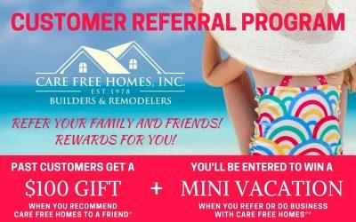 Care Free Customer Referral & Rewards Program