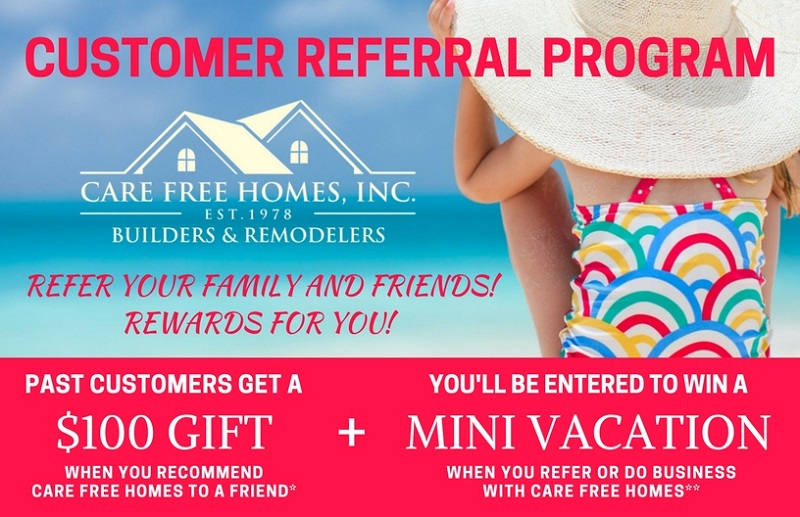 Care Free Customer Referral Amp Rewards Program Contractor