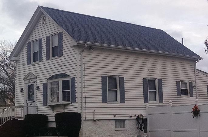 Biscayne Blue GAF Roof in New Bedford, MA