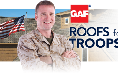 Roofs for Troops Rebate Offered from GAF
