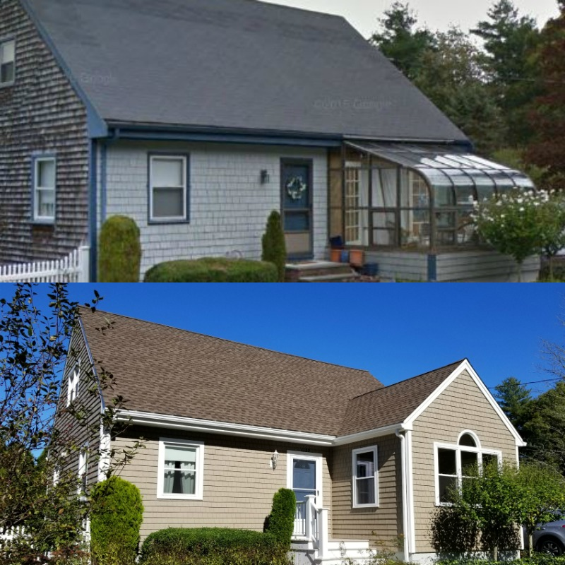 Mastic Vinyl Siding Harvey Windows Gaf Roofing Sunroom