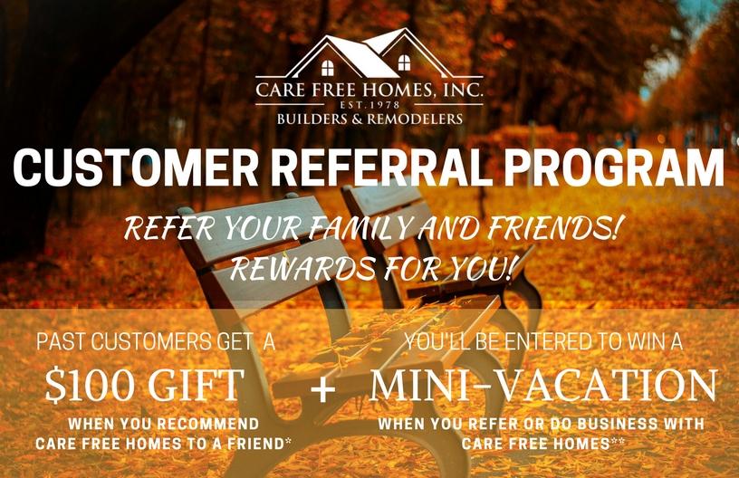 Fall Care Free Customer Referral & Rewards Program