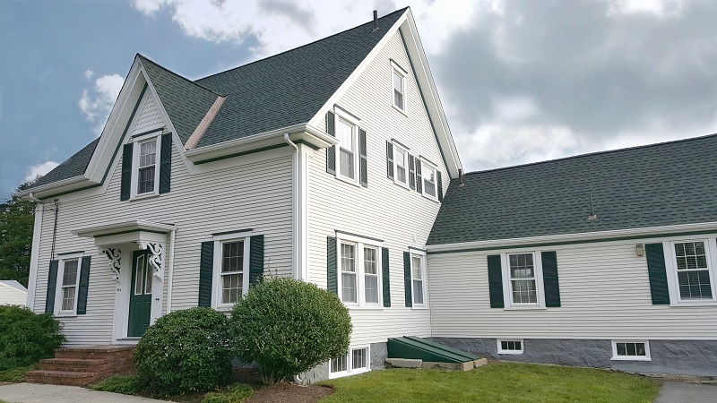 Copper Valleys featured on Fairhaven, MA Roof Replacement