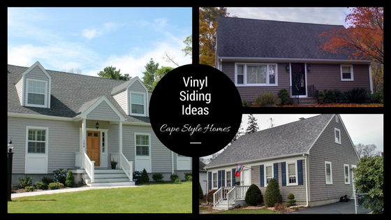 Vinyl Siding Ideas On Cape Cod Style Homes In Southeastern Ma And