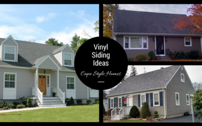 Vinyl Siding Ideas on Cape Cod Style Homes in Southeastern, MA and RI