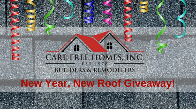Press release new year new roof giveaway nominations for New home giveaway