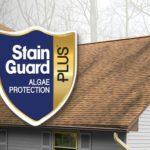 GAF Algae-Resistant StainGuard Plus™Shingles!