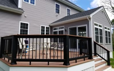 Rochester, MA Sunroom and Deck Addition
