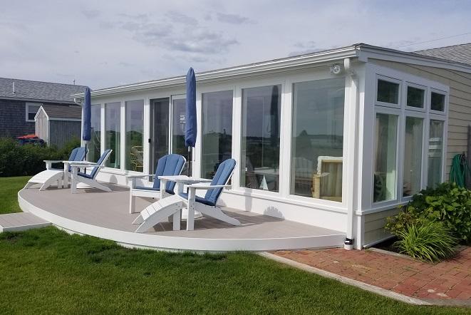 Waterfront Sunroom