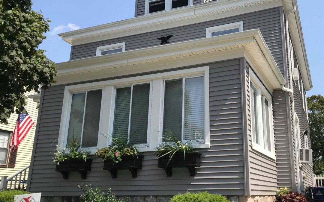 Mastic Vinyl Siding, Harvey Windows & Therma Tru Door, New Bedford, MA