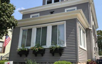 Mastic Vinyl Siding, Harvey Windows & Therma Tru Door, New Bedford, MA