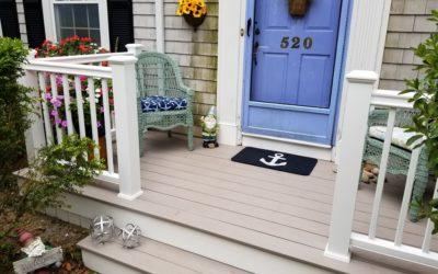 AZEK Porch Decking, So. Dartmouth, MA