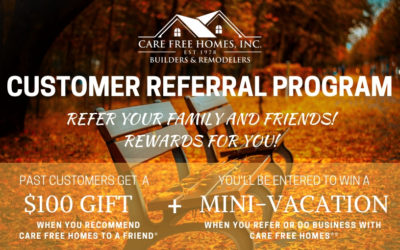 Care Free Customer Referral & Rewards Program Fall 2018
