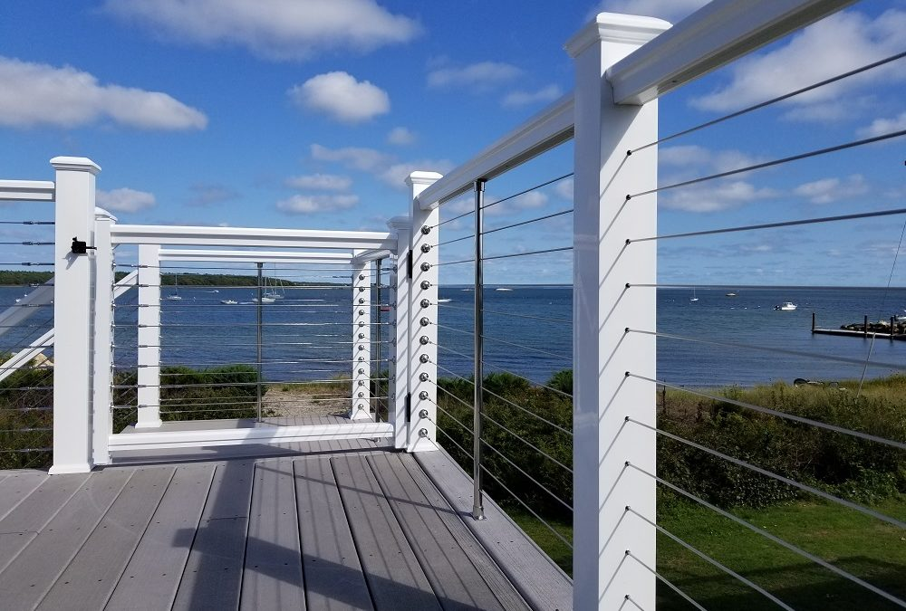 Cable Rail System & AZEK Decking, Fairhaven, MA