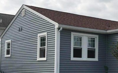 Mastic Carvedwood Vinyl Siding & Harvey Windows, New Bedford, MA