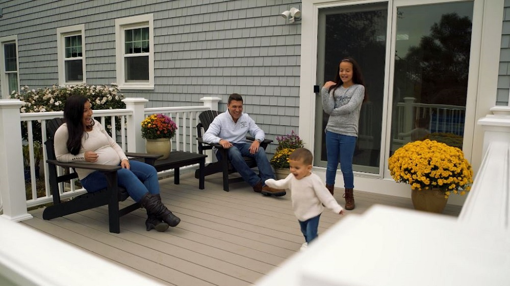 Care Free Homes TV Commercial Features SouthCoast MA Family