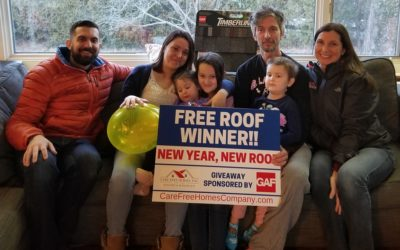 Dartmouth, MA Family WINS New Year, New Roof Giveaway!
